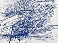 Motif wallpaper BLUE UNTITLED 2013 - Wallpepper