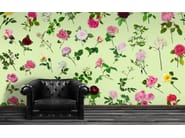 Wallpaper with floral pattern ROSE IS A ROSE - Wallpepper