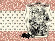 Kids wallpaper ALICE AND THE BLACK KITTEN - Wallpepper