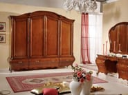 Solid wood wardrobe with drawers PERSIA   Solid wood wardrobe - Arvestyle