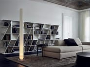 Open Corian® bookcase WEB - Poliform