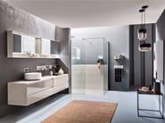 Arredo bagno completo in Pietrablu WELL COMP.2 | Arredo bagno completo - ARBLU