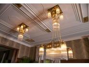 Direct light handmade brass chandelier WIENER I | Chandelier - Patinas Lighting