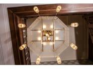 Direct light handmade brass chandelier WIENER II | Chandelier - Patinas Lighting