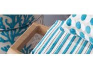 Striped viscose upholstery fabric WIMBLEDON - Gancedo