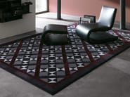 Fabric rug with geometric shapes WINDSOR - Besana Moquette