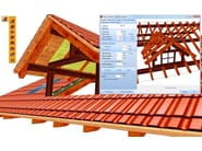 Timber roofs planning WoodCon A - Wooden roofs - SYSTEMS EDITORIALE E FINANZIARIA