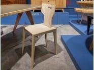 Ash chair PEGAZ | Wooden chair - ST FURNITURE