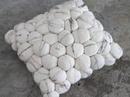 Wool felt cushion PEBBLE | Wool felt cushion - Ronel Jordaan™