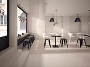 Full-body porcelain stoneware flooring with concrete effect WORK | Flooring - Ceramiche Marca Corona