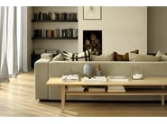 Rectangular oak coffee table OAK SIMPLE | Rectangular coffee table - Ethnicraft