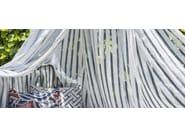 Tessuto a righe da tappezzeria in lino XIROCO - Gancedo