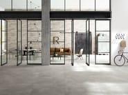 Porcelain stoneware flooring with concrete effect XLSTREET - MARAZZI