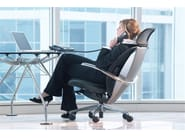 Swivel executive chair with headrest XTEN® | Executive chair with headrest - Ares Line