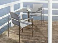 Tavolo da giardino quadrato YIX | Tavolo da giardino - solpuri