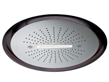 Soffione a led in acciaio inox con 3 getti con illuminazione 3-JETS HEAD SHOWERS | Soffione con illuminazione