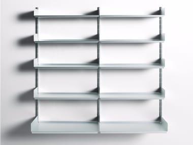 Librería composable de aluminio extrudado 606 UNIVERSAL SHELVING SYSTEM