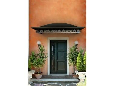 Marquesinas para puertas puertas de entrada y puertas de for Como hacer una marquesina para puerta de entrada