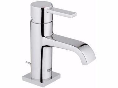 Mezclador de lavabo monomando con válvula automática ALLURE SIZE M | Mezclador de lavabo de sobre encimera