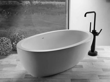 Freestanding oval bathtub ANGELA