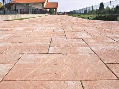 Masselli autobloccanti per esterni micheletto archiproducts - Pavimentazione giardino autobloccanti ...