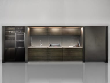 euromobil arte linear kitchen antis fusion fitted kitchens euromobil