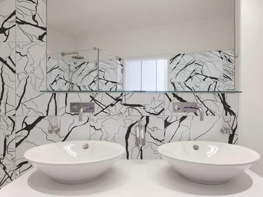 Rivestimento in gres porcellanato smaltato effetto marmo ARTWORK | Rivestimento effetto marmo