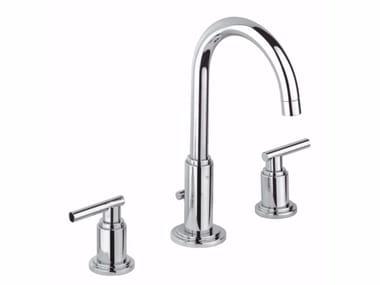 Grifo para lavabo con 3 orificios con caño giratorio ATRIO CLASSIC JOTA | Grifo para lavabo de sobre encimera