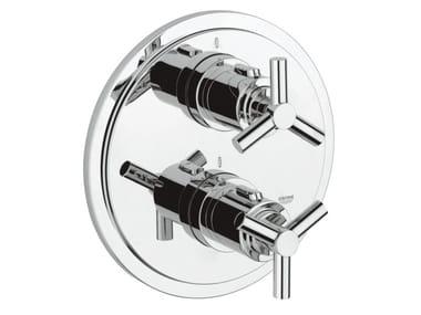 Miscelatore termostatico per doccia con piastra ATRIO CLASSIC YPSILON | Miscelatore termostatico per doccia a 2 fori