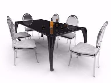 Tavolo da pranzo rettangolare in Adamantx® BAROKKO