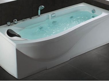 Bañera de hidromasaje rectangular BL-512 | Bañera de hidromasaje
