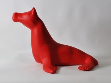 Sculpture en polyéthylène CAVALLO-FOCA