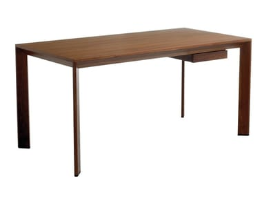 office desk tables. CHAMFER | Office Desk With Drawers Tables