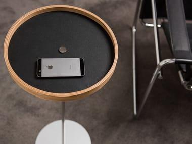 Coffee table / pin tray CIRCULUM RING STANDING