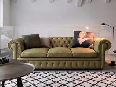 Chesterfield style leather sofa CLASS | Chesterfield style sofa