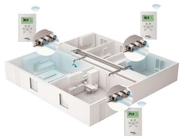 Instalación de ventilación mecánica forzada CLIMA-ZONE