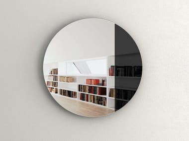 Round wall-mounted mirror CORD