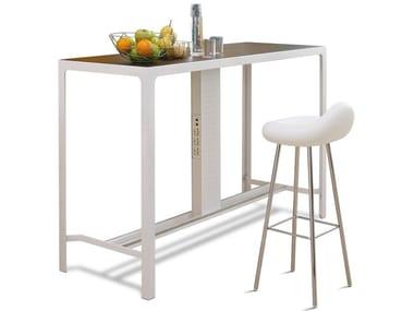 tavolo alto rettangolare banconcino