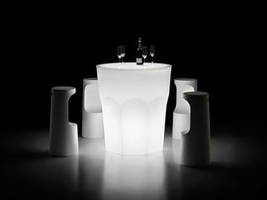 Mange-debout lumineuse ronde CUBALIBRE TABLE LIGHT
