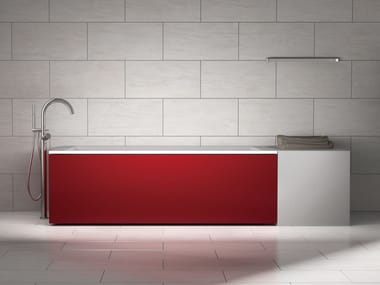 Bañera rectangular de PRFV COORDI