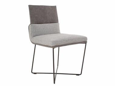 Gepolsterter Stuhl aus Stoff D.S. | Stuhl aus Stoff