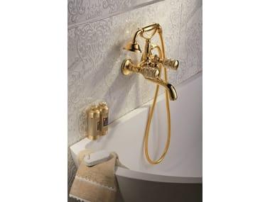 Rubinetto per vasca a muro in stile classico con doccetta DELUXE PRESTIGE | Rubinetto per vasca