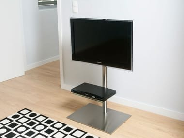 Mobile TV / supporto per monitor/TV in acciaio inox DISCO K6 BI