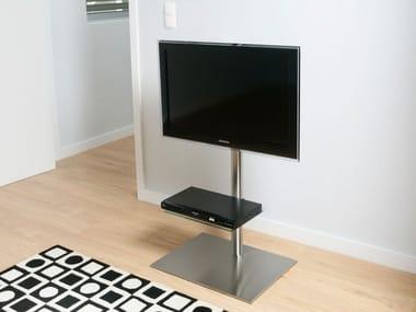 Meuble tv / support pour écran en acier inoxydable DISCO K6 BI