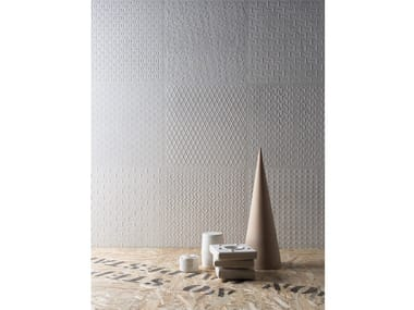 Double-fired ceramic 3D Wall Cladding DISTRICT | 3D Wall Cladding