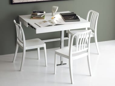 Wall mounted tables archiproducts - Table cuisine pliante murale ...
