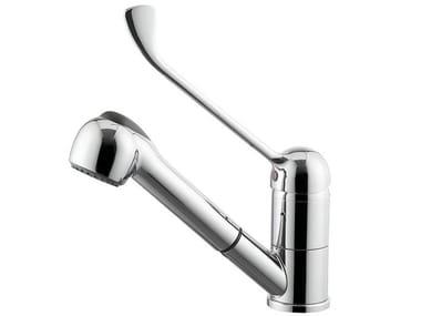 Miscelatore da cucina con bocca girevole con doccetta estraibile DREAM KITCHEN | Miscelatore da cucina con doccetta estraibile