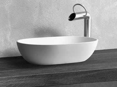 Countertop oval washbasin DUBAI