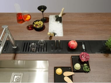 Kitchen equipped track EASYRACK KITCHEN FLAT | Scale