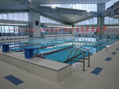 Revestimiento de piscinas de gres porcelánico ELEMENTI